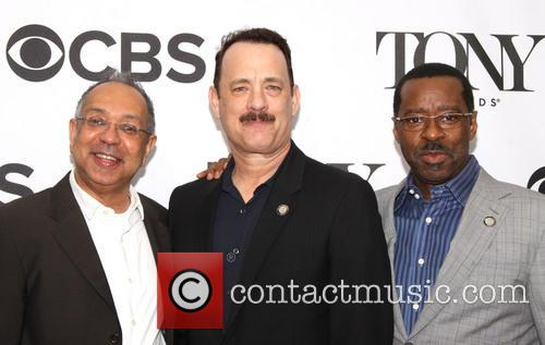 George C. Wolfe, Tom Hanks and Courtney B. Vance 2