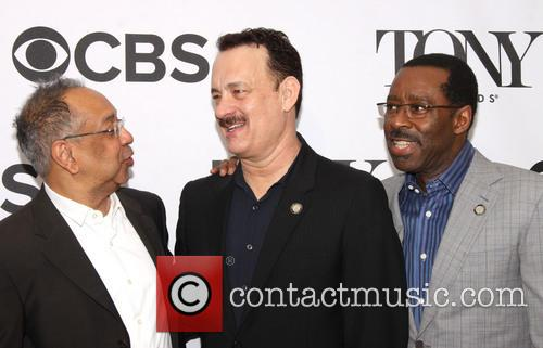 George C. Wolfe, Tom Hanks and Courtney B. Vance 1