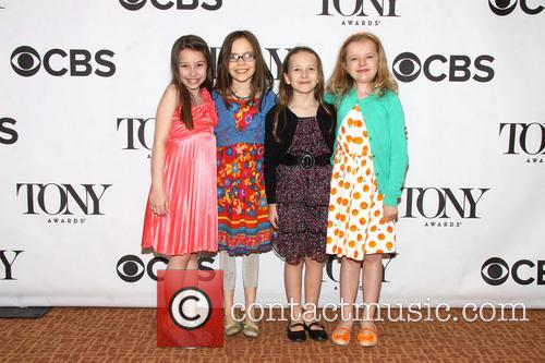 Bailey Ryon, Oona Laurence, Sophia Gennusa and Milly Shapiro 2