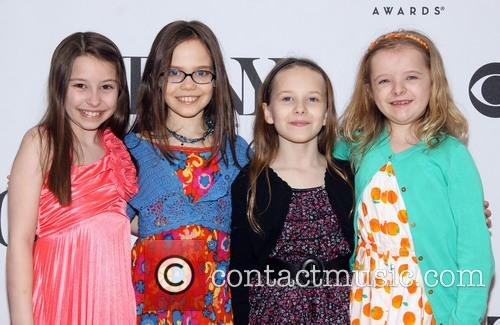 Bailey Ryon, Oona Laurence, Sophia Gennusa and Milly Shapiro 1