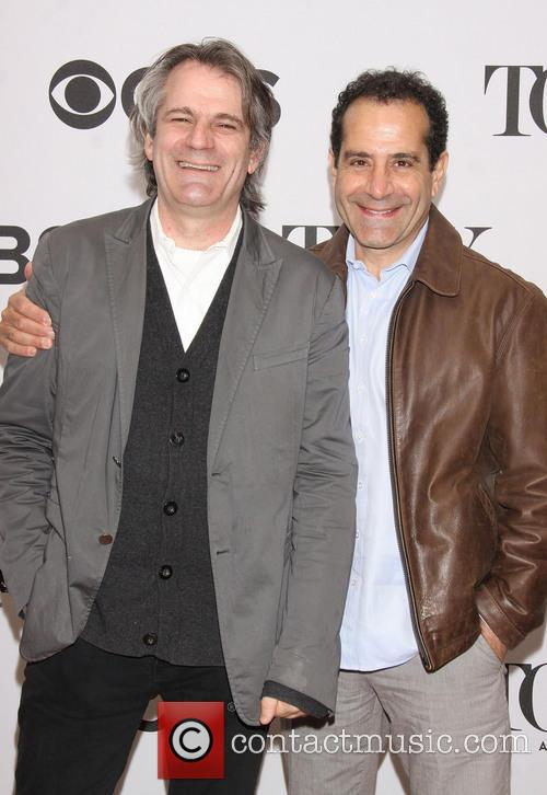 Bartlett Sher and Tony Shalhoub 1