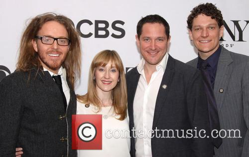 Tim Minchin, Lauren Ward, Bertie Carvel and Gabriel Ebert 6