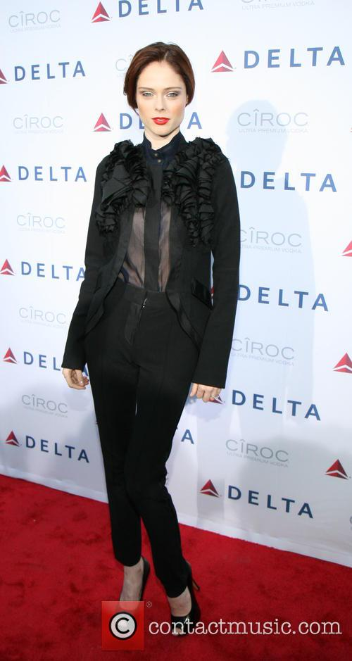 coco rocha delta airlines celebrates the opening 3640458