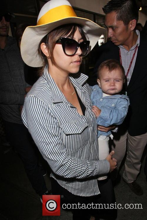 Kourtney Kardashian and Penelope Disick 6