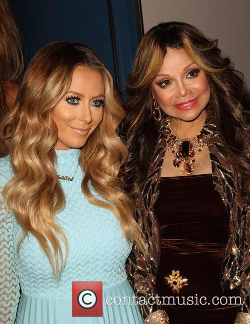 Aubrey O'day and Latoya Jackson 4