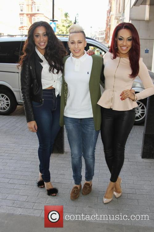 Stooshe, Alexandra Buggs, Courtney Rumbold and Karis Anderson 3