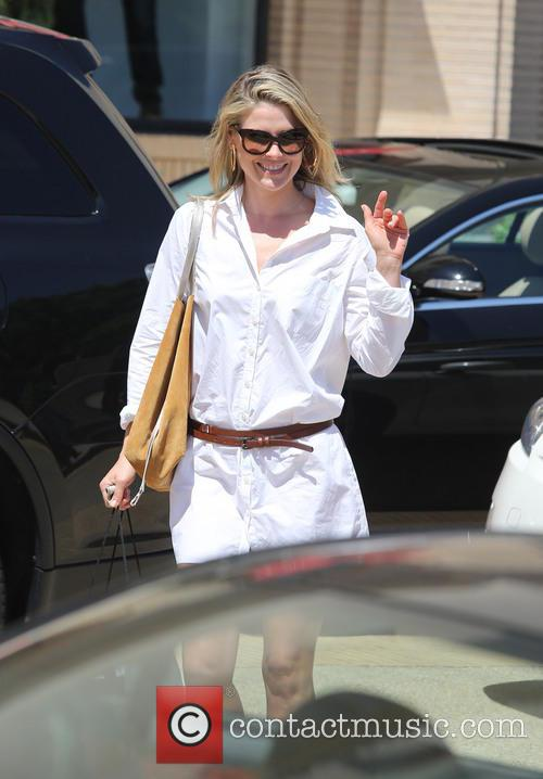 Ali Larter at Barneys