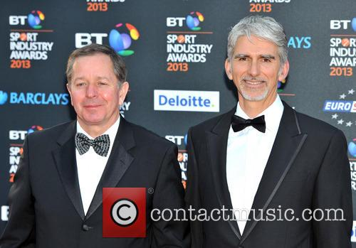 Martin Brundle and Damon Hill 2