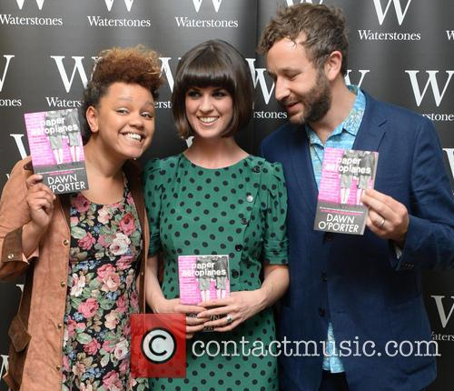 Gemma Cairney, Dawn O'porter and Chris O'dowd 2