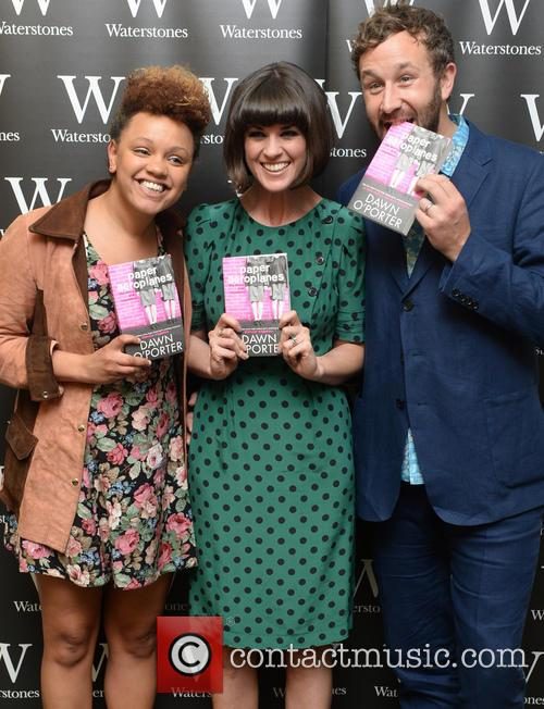 Gemma Cairney, Dawn O'porter and Chris O'dowd 3