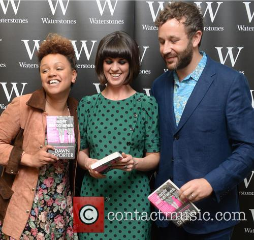 Gemma Cairney, Dawn O'porter and Chris O'dowd 4