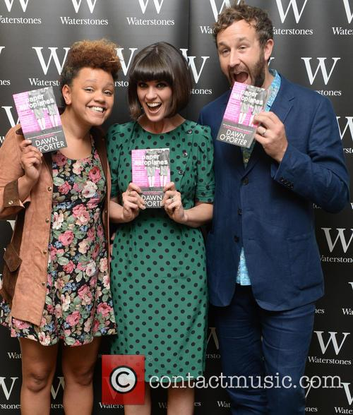 Gemma Cairney, Dawn O'porter and Chris O'dowd 5