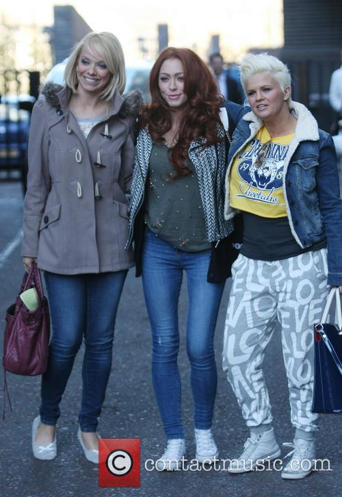 Atomic Kitten, Liz Mcclarnon, Natasha Hamilton and Kerry Katona 2
