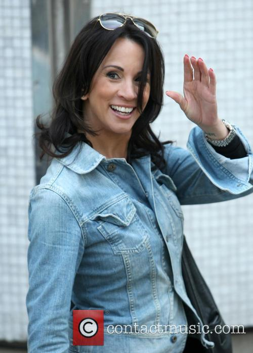 andrea mclean celebs at itv 3641041