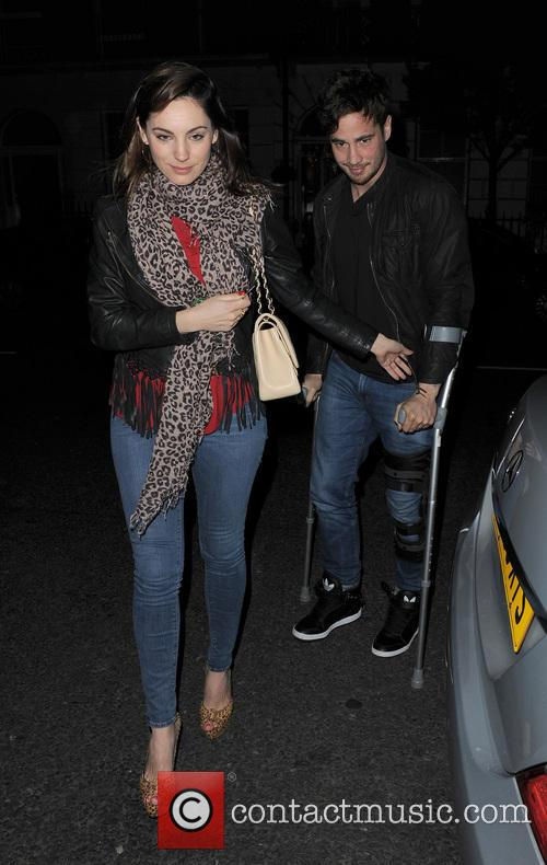 Kelly Brook and Danny Cipriani 13