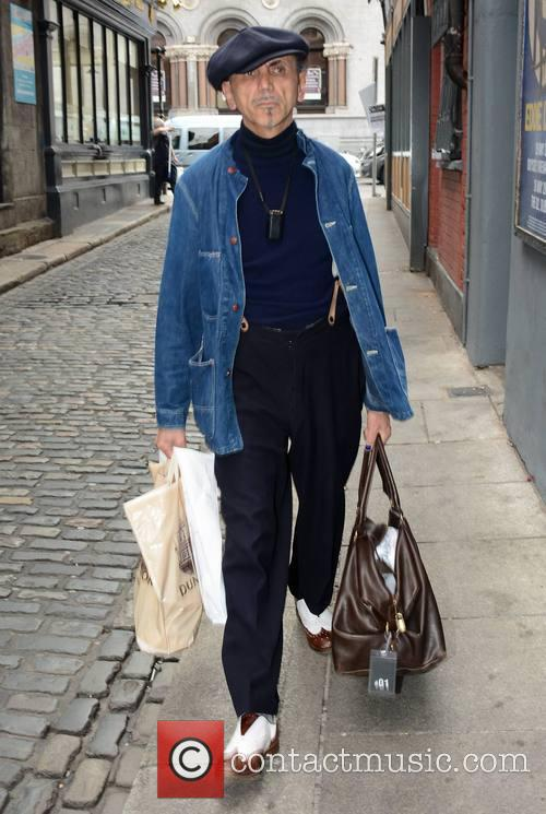 Kevin Rowland arriving at The Olympia Theatre