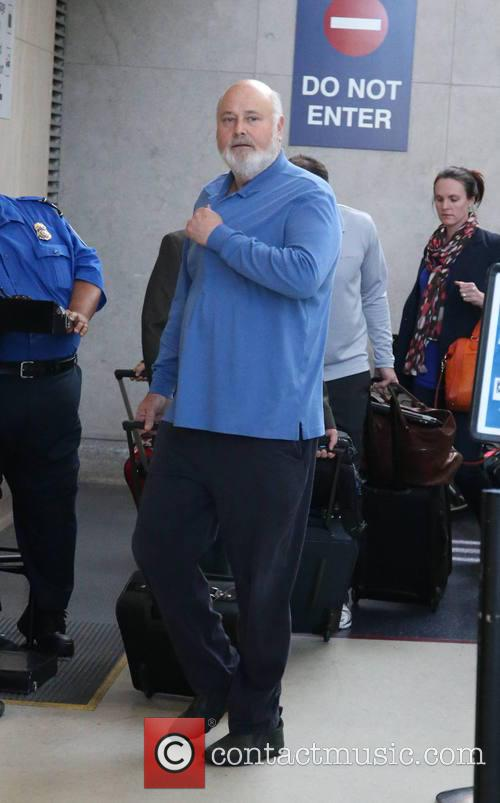 Rob Reiner, LAX airport