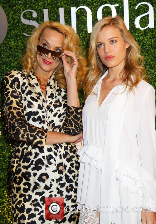Georgia May Jagger and Jerry Hall 2