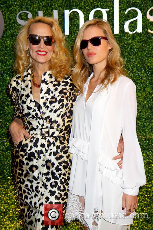 Georgia May Jagger and Jerry Hall 5