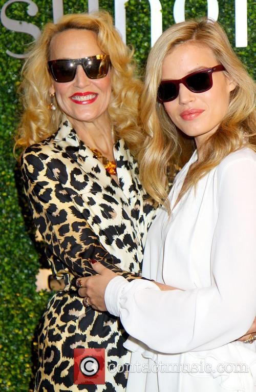 Georgia May Jagger and Jerry Hall 7