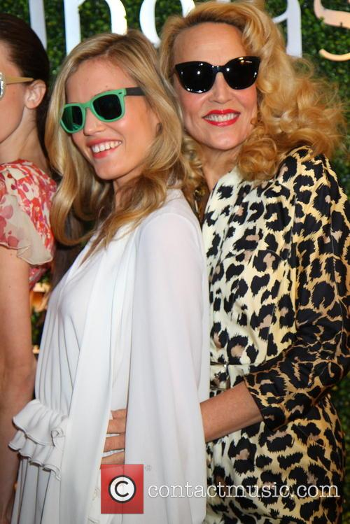 Georgia May Jagger and Jerry Hall 12
