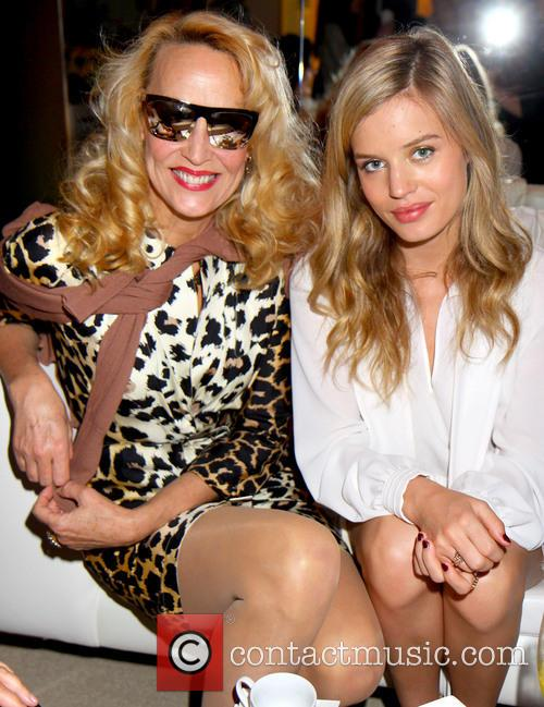 Georgia May Jagger and Jerry Hall 1