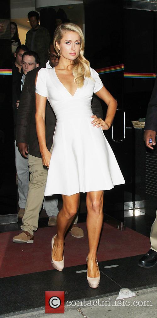 Paris Hilton at the Wendy Williams show