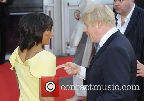 Boris Johnson and Kelly Holmes 1