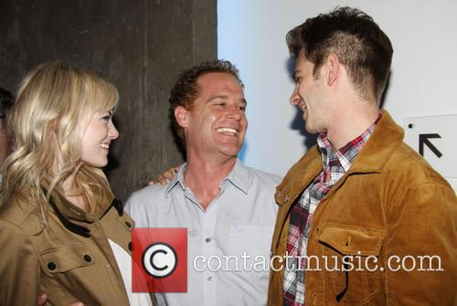 Emma Stone, Adam James and Andrew Garfield 3