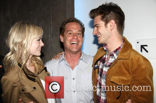 Emma Stone, Adam James and Andrew Garfield 5