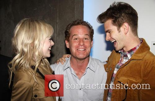 Emma Stone, Adam James and Andrew Garfield 7