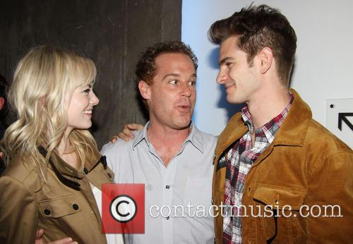 Emma Stone, Adam James and Andrew Garfield 1