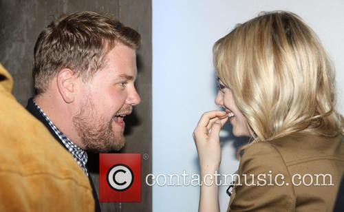 James Corden and Emma Stone 9