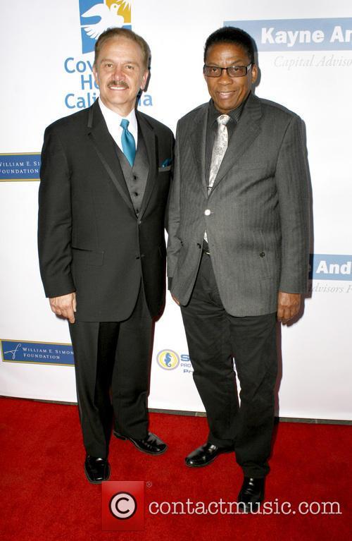 George R. Lozano and Herbie Hancock 2