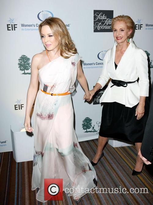 Kylie Minogue and Carolina Herrera 2