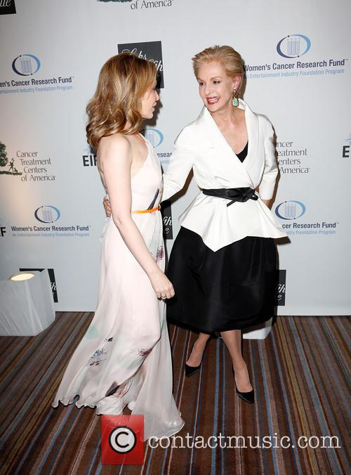 Kylie Minogue and Carolina Herrera 9