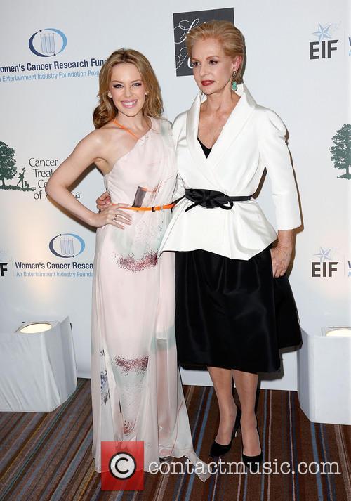 Kylie Minogue and Carolina Herrera 6