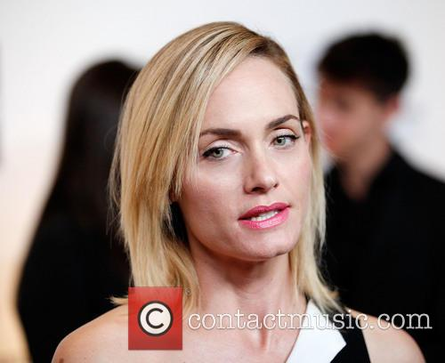 Amber Valletta, The Beverly Wilshire Hotel, Saks Fifth Avenue