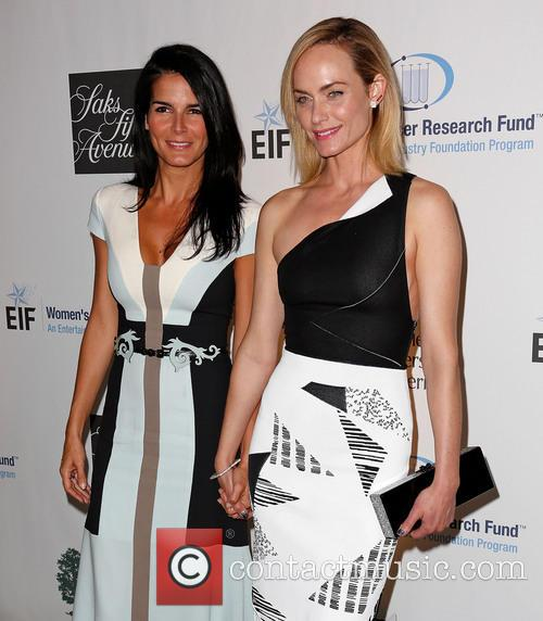 Angie Harmon and Amber Valletta 6