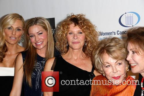 Jaime Tisch, Quinn Ezralow, Kate Capshaw, Anne Douglas and Marion Laurie