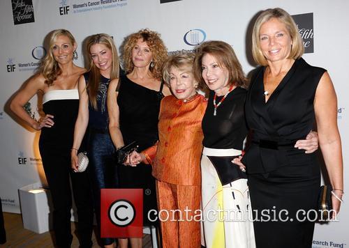 Jaime Tisch, Quinn Ezralow, Kate Capshaw, Anne Douglas, Marion Laurie and Kelly Meyer 2
