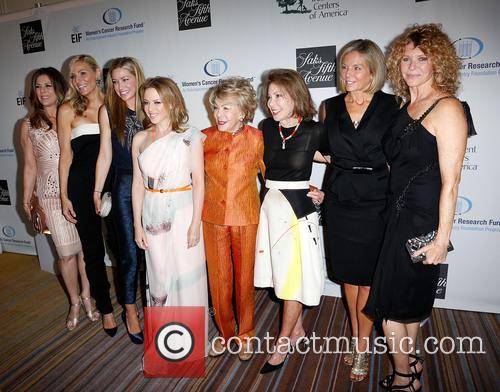 Rita Wilson, Jaime Tisch, Quinn Ezralow, Kylie Minogue, Anne Douglas, Marion Laurie, Kelly Meyer and Kate Capshaw 3