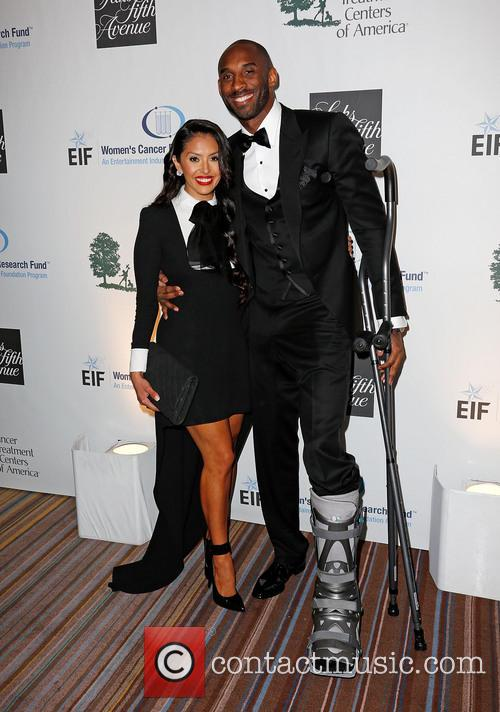 Vanessa Bryant and Kobe Bryant 3