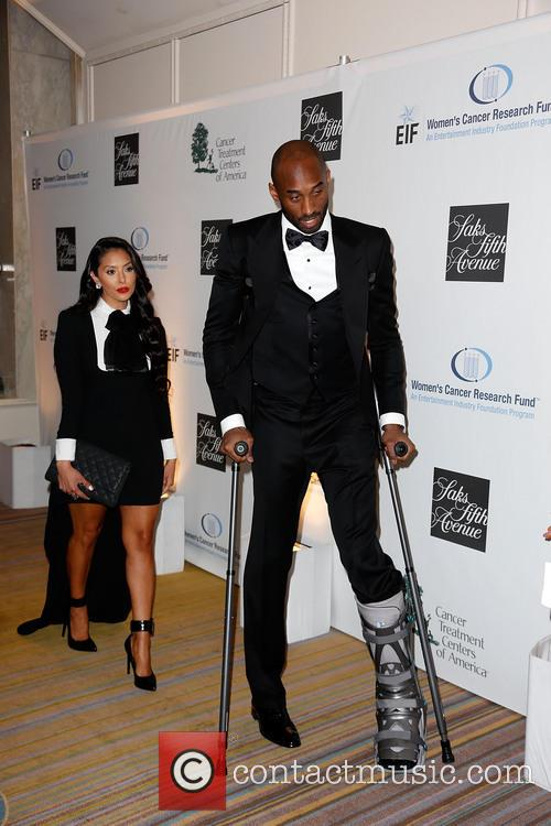 Vanessa Bryant and Kobe Bryant 1