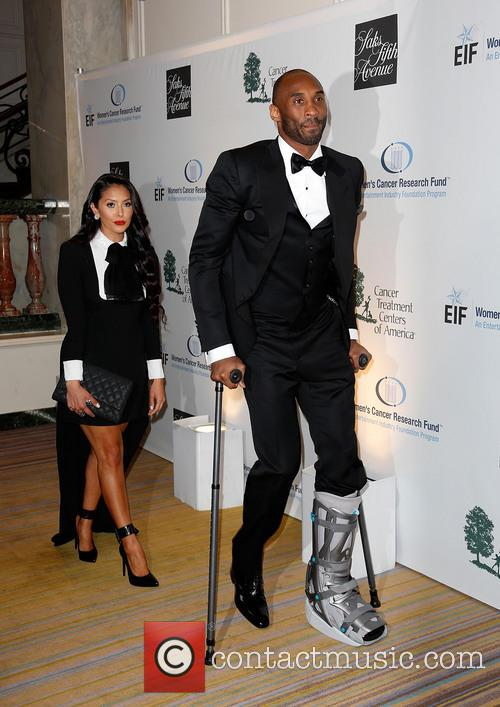 Vanessa Bryant and Kobe Bryant 8