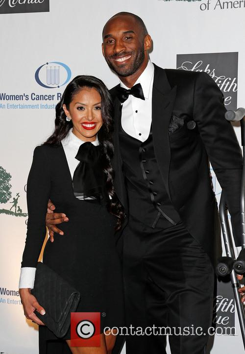 Vanessa Bryant and Kobe Bryant 9