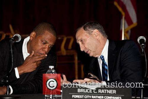 Jay-z, Shawn Carter and Bruce Ratner 9