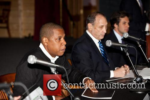 Jay-z, Shawn Carter and Bruce Ratner 10
