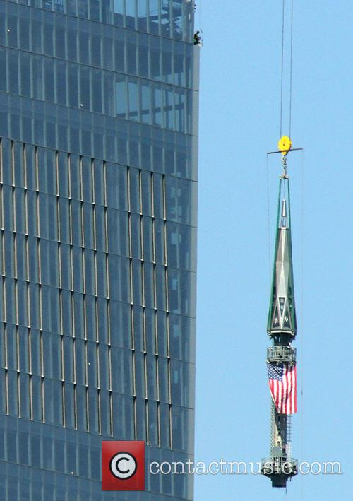 One World Trade Center spire