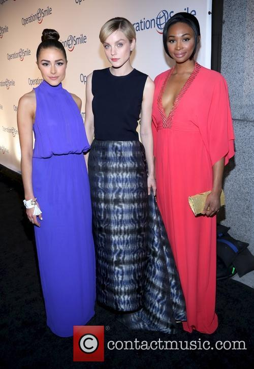Jessica Stam, Olivia Culpo and Nana Meriweather 5
